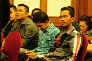 alfalfa belajar Public Speaking di Majapahit Hotel dengan Stephen Fernando. 2013