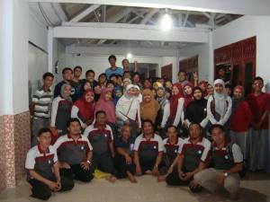 ALFALFA kunjungan dan study banding dengan SMP Al Azhar, Jakarta.2012