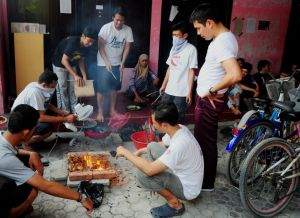 ALFALFA masak bareng akhir pekan