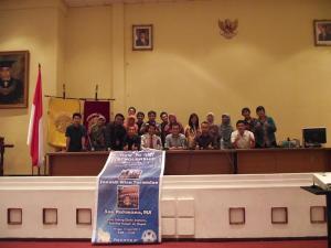 ALFALFA seminar How to get scholarship,UI, Jakarta.