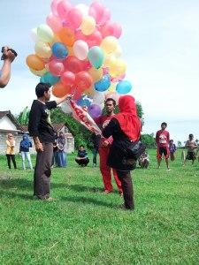 balon harapan di awal tahun 2013