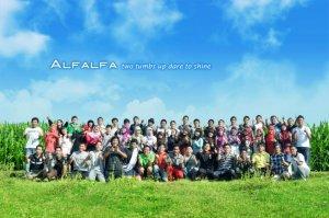 bersama dalam gambar yang penuh kenangan, alfalfa 2012